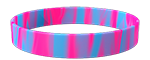 806C/292C <br> Fluor Pink/Light Blue