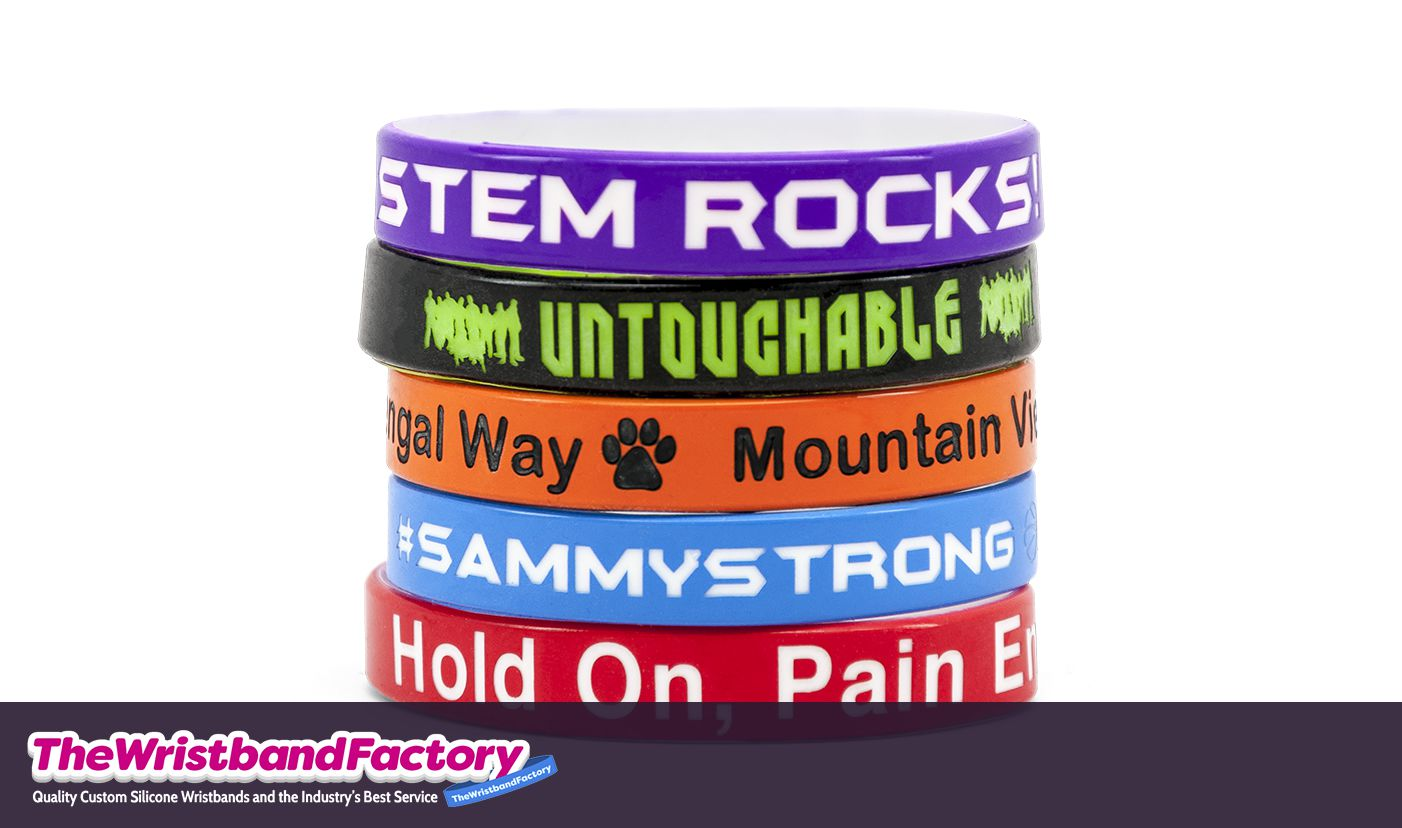Color Coated Wristbands 2