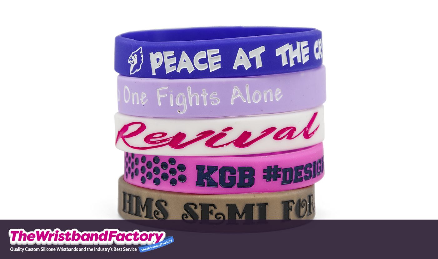 Color Filled Wristbands 1
