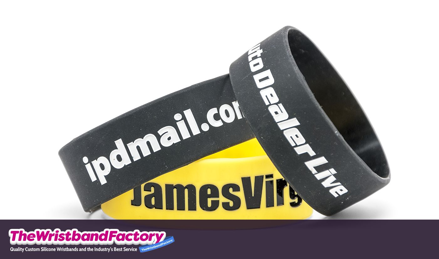 One Inch Wristbands 2