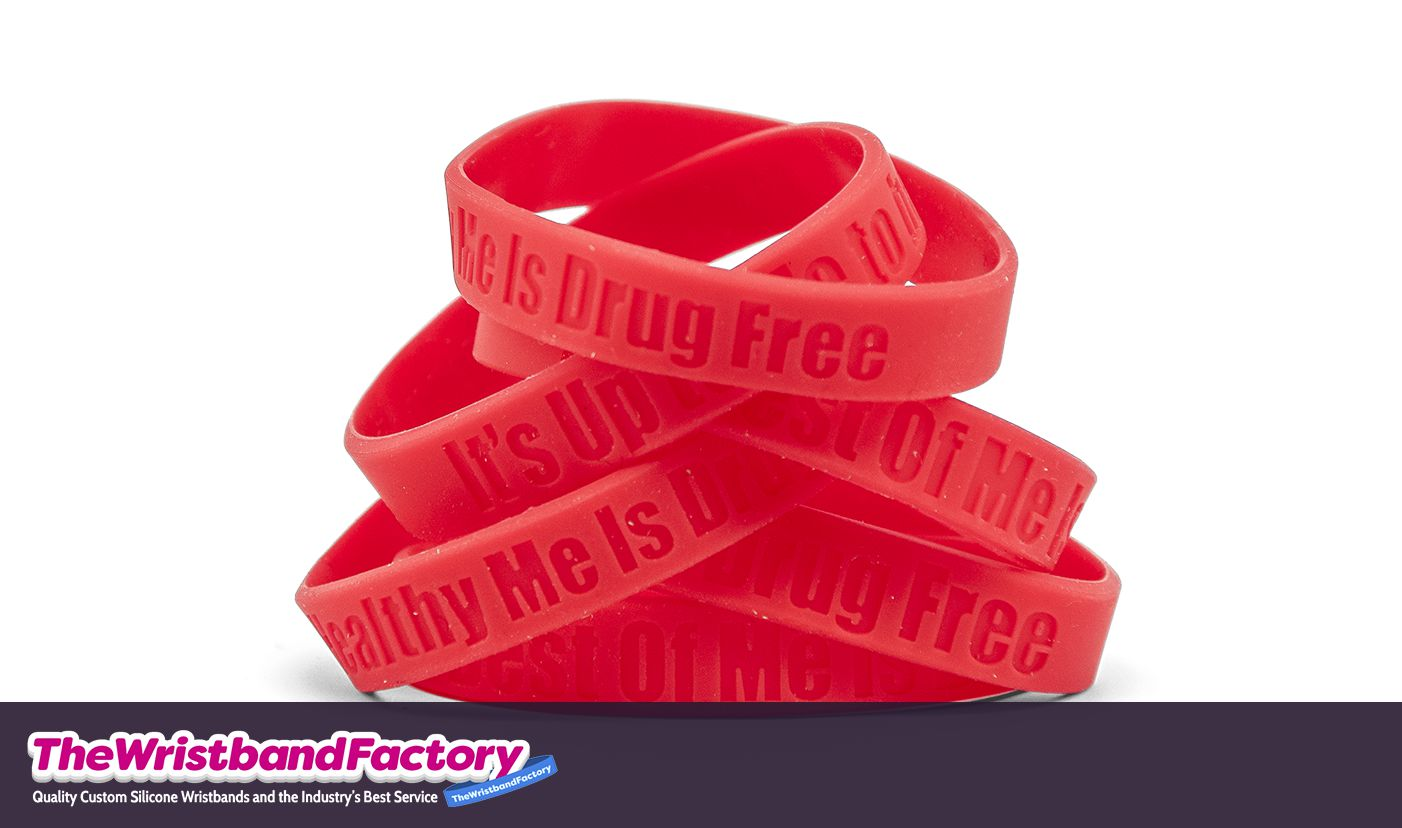 Red Ribbon Wristbands 2